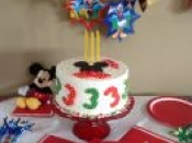 3rd bday mickey mouse