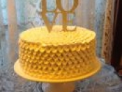 yellow love cake   used in flavors